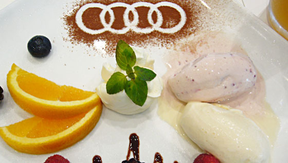 Audi Special Icecream