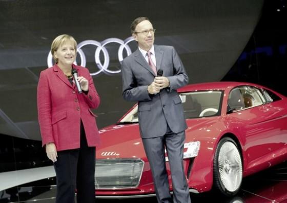 ドイツの首相も登場